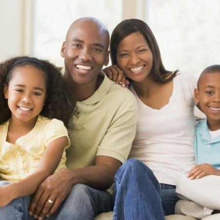 Stock family photo