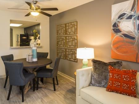 Dining roomat Siena Apartments in Plantation FL