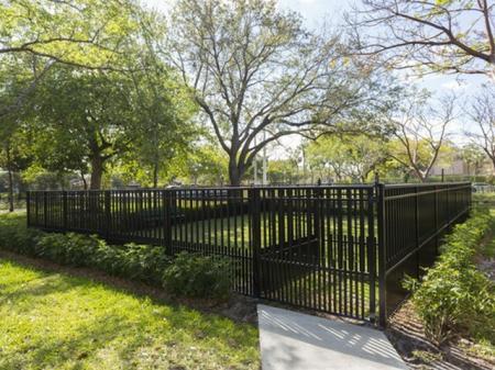 Dog park Siena Apartments Plantation FL