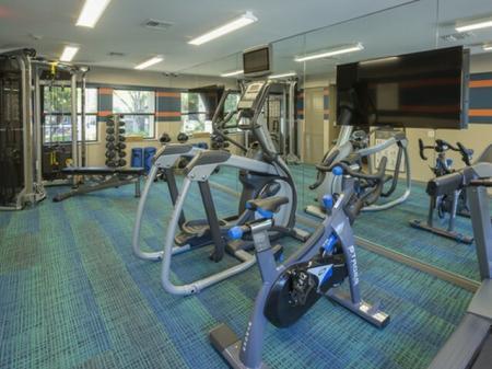 Gym at Siena Apartments in Plantation FL