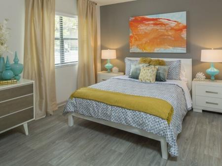 Second bedroom apartmentsat Siena Apartments in Plantation FL