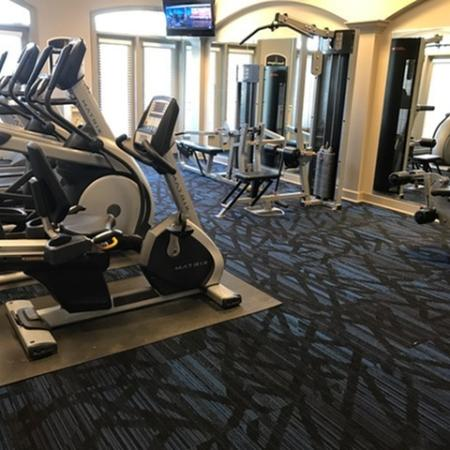 Newly Renovated Fitness Center at The Belvedere Apartments in Richmond, VA