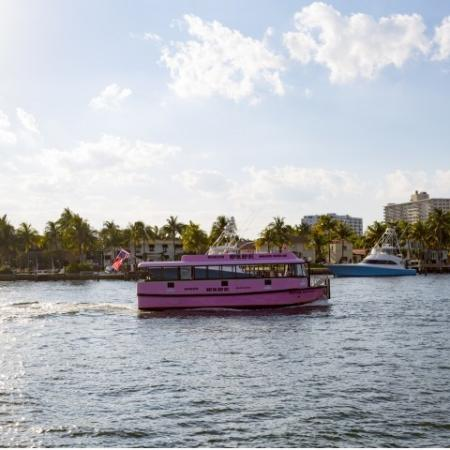 Picture of the water taxi at ORA Flagler Village Apartments in Fort Lauderdale, Florida