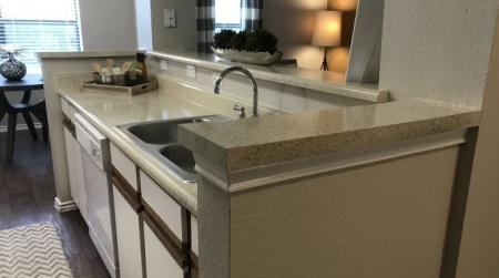 Fully equipped kitchens at Brynwood Apartments in San Antonio, Texas.