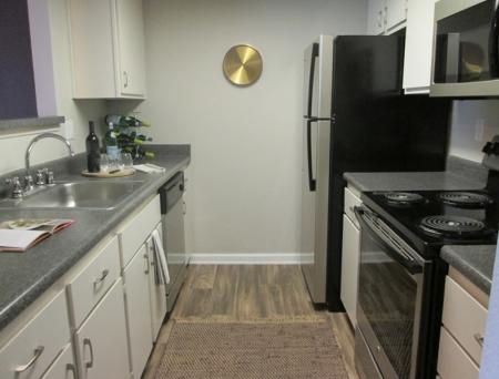 Kitchen at Sorelle Apartments in Moreno Valley CA