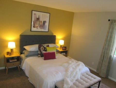 Master suite at Sorelle Apartments in Moreno Valley CA
