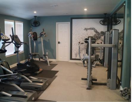 Fitness center at Sorelle Apartments in Moreno Valley CA