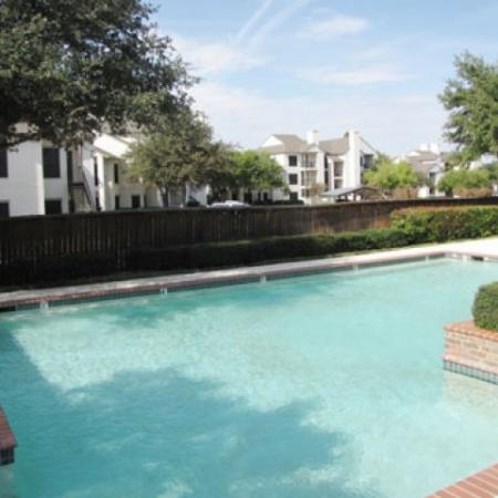 Swimming pool at Valley Trails Apartments in Irving, TX