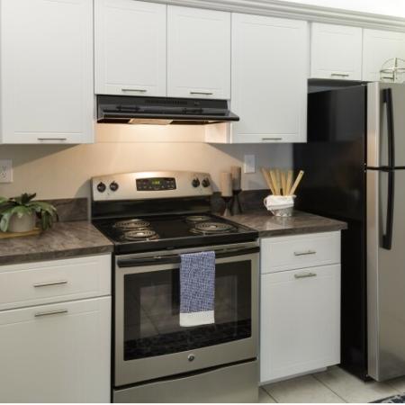 Kitchen at Hidden Harbor Apartments in Royal Palm Beach, FL