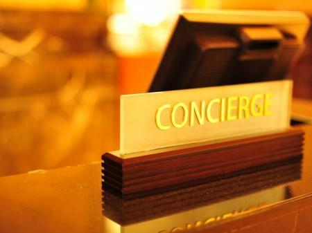 Concierge service at Rienzi at Turtle Creek in Dallas, TX