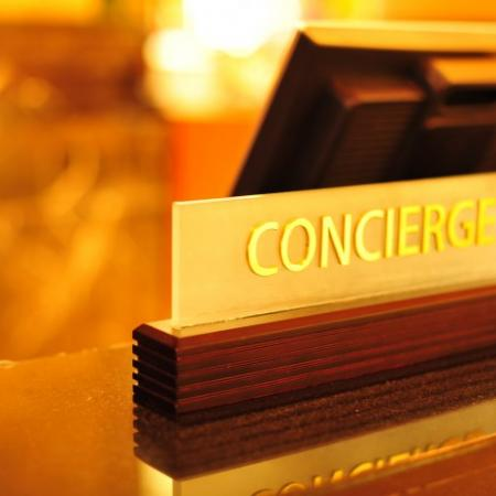 Concierge service at Rienzi at Turtle Creek in Dallas, TX