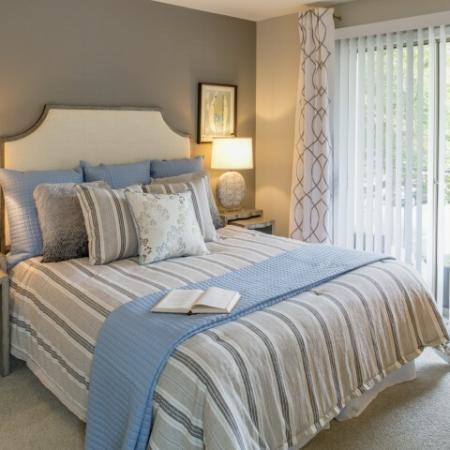 Bedroom at Adler at Waters Landing Apartments in Germantown, MD