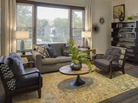 Resident lounge at Adler at Waters Landing Apartments in Germantown, MD