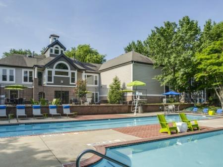 pool at Adler at Waters Landing Apartments in Germantown, MD