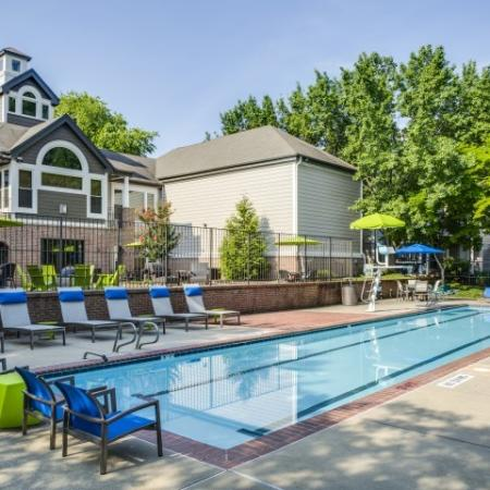 Lap Pool at Adler at Waters Landing Apartments in Germantown, MD