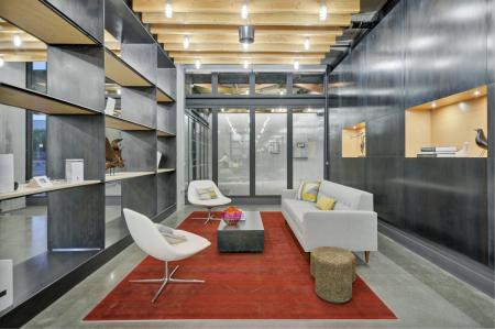 Leasing officeat L Seven Apartments in San Francisco CA