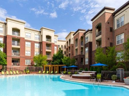 Pool with WiFi at 17 Barkley Apartments in Gaithersburg, MD