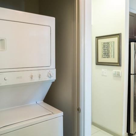 Laundry area at 17 Barkley Apartments in Gaithersburg, MD