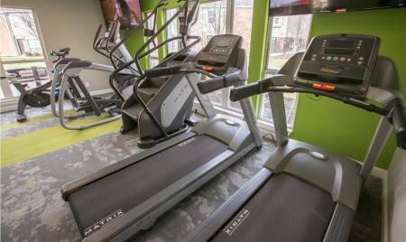State-of-the-art equipment at Williamsburg Townhomes in Sagamore Hills, Ohio
