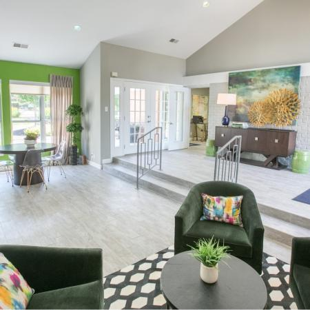 Clubhouse at Williamsburg Townhomes in Sagamore Hills, Ohio