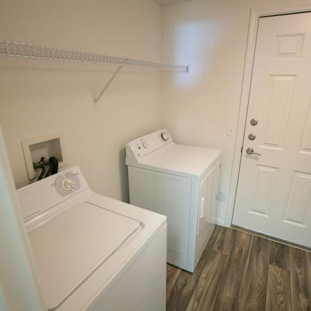 Full-size washer and dryer at The Residence at Barrington in Aurora, OH
