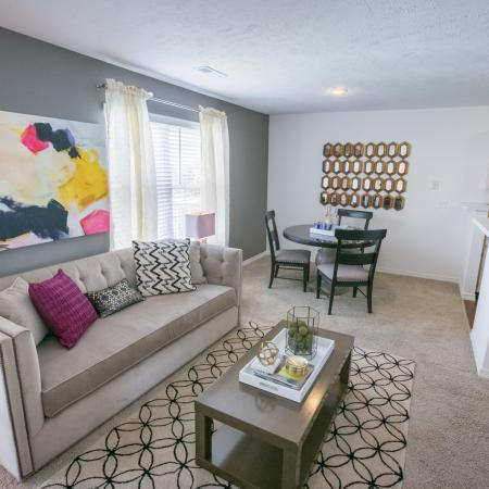 Open floorplans at The Residence at Barrington in Aurora, OH