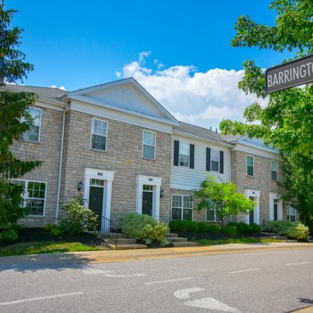 Townhomes at The Residence at Barrington in Aurora, Ohio