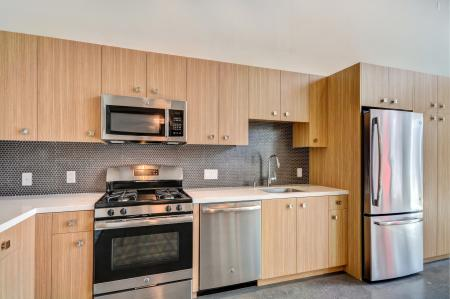 Concentric Design Package Kitchen at L Seven Apartments in San Francisco CA