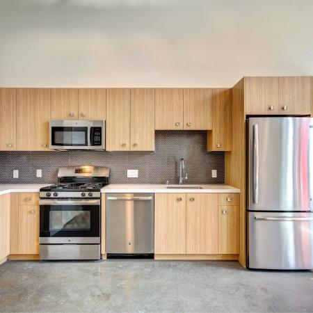 Concrete Floors at L Seven Apartments in San Francisco CA