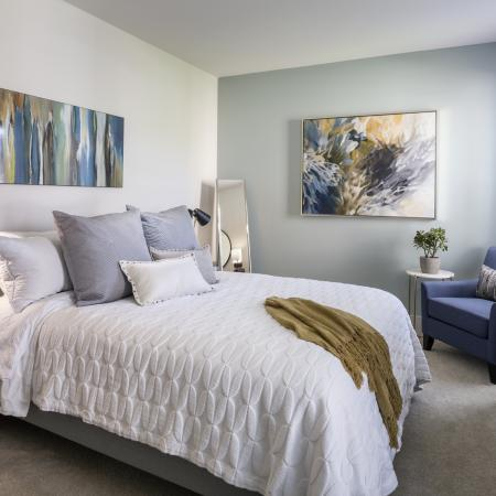 Ceiling fans and walk-in closets available at Talia Luxury Apartments in Marlborough, MA