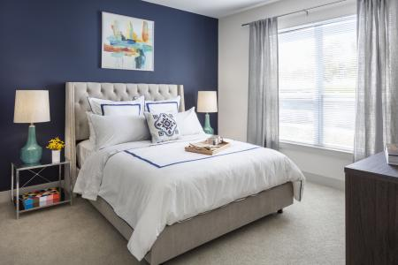 Light filled bedrooms at Talia Luxury Apartments in Marlborough, MA