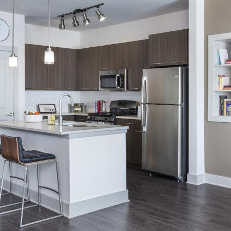 At Talia we offer a choice of two color schemes, Sleek or Harmony at Talia Luxury Apartments in Marlborough, MA