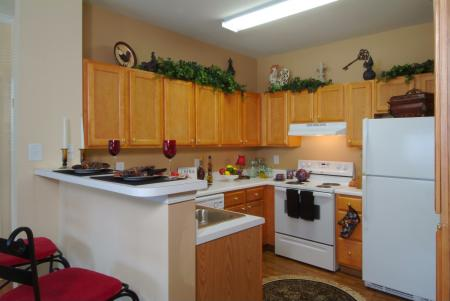 Kitchen at Colton Creek Apartments in McDonough, GA