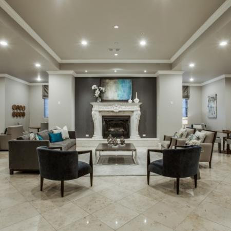 Clubroom-Rienzi at Turtle Creek in Dallas, TX