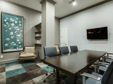 Conference room-Rienzi at Turtle Creek in Dallas, TX