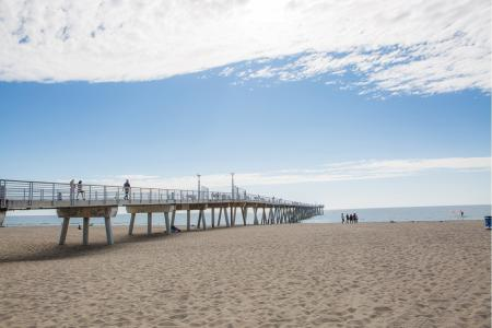 Hermosa Beach Pier near Avaire South Bay Apartments in Inglewood CA