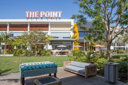 The Point shopping center near Avaire South Bay Apartments in Inglewood CA
