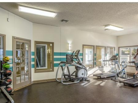 Fitness center at Middletown Ridge Apartments, 100 Town Ridge, Middletown, CT