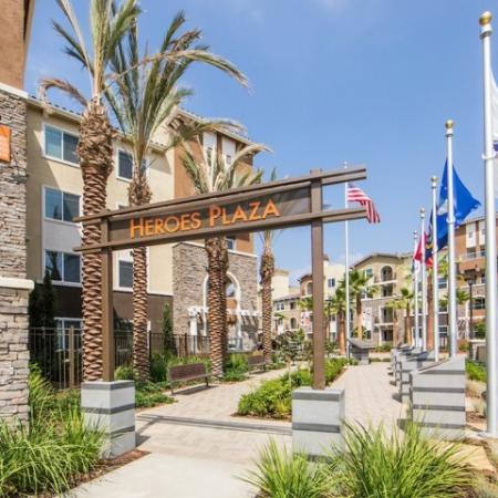 Heroes Plaza at Valentia Apartments in La Habra, CA