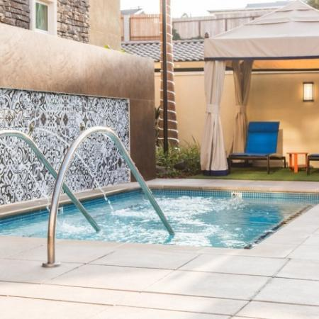Spa at Valentia Apartments in La Habra, CA