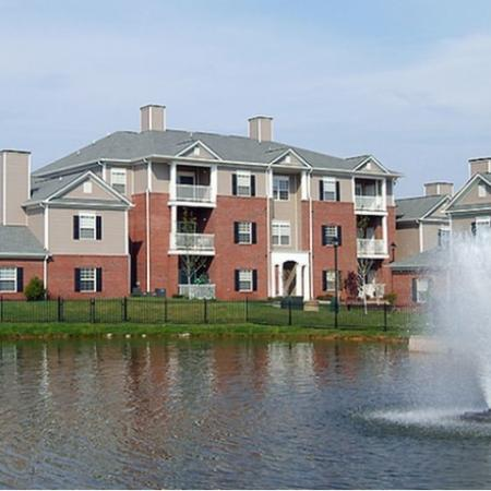 Water Feature at The Belvedere Apartments in North Chesterfield, VA
