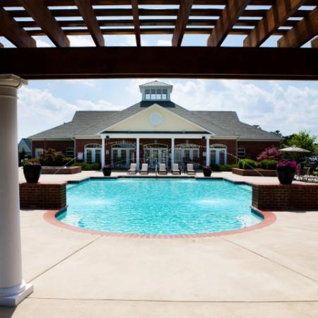 Large pool at The Belvedere Apartments in Richmond, VA