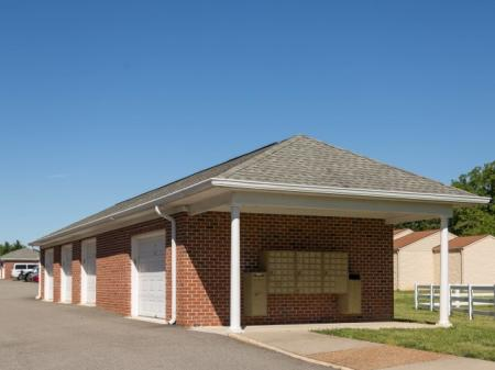 Detached Single Car Garages at The Belvedere Apartments in Richmond, VA
