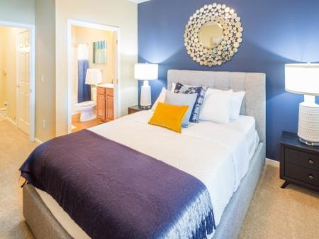 Guest Bedroom at The Belvedere Apartments in Richmond, VA
