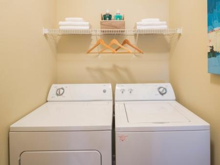 Washer and Dryer at The Belvedere Apartments in Richmond, VA
