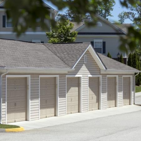 Detached Garages at River Forest apartments in Chester, VA