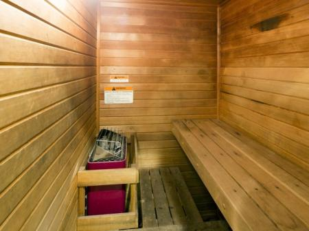 Sauna at River Forest apartments in Chester, VA