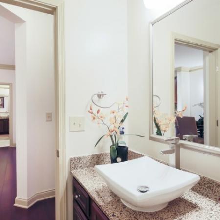 Bathroom at Apartments at Arboretum