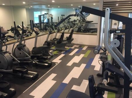 Fitness center at The Retreat at Maple Hill Apartments in Federal Way WA