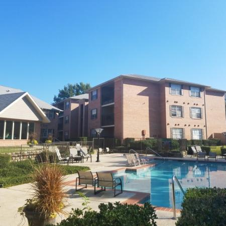 Pool day at Valley Ridge Apartment Homes in Lewisville, TX